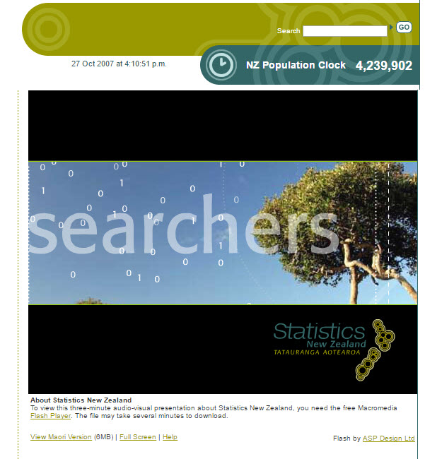 About Statistics New Zealand [videorecording]